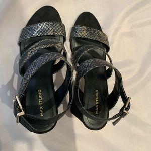 Max Studio Shoes - Max Studio sandals heels size 6- NEW